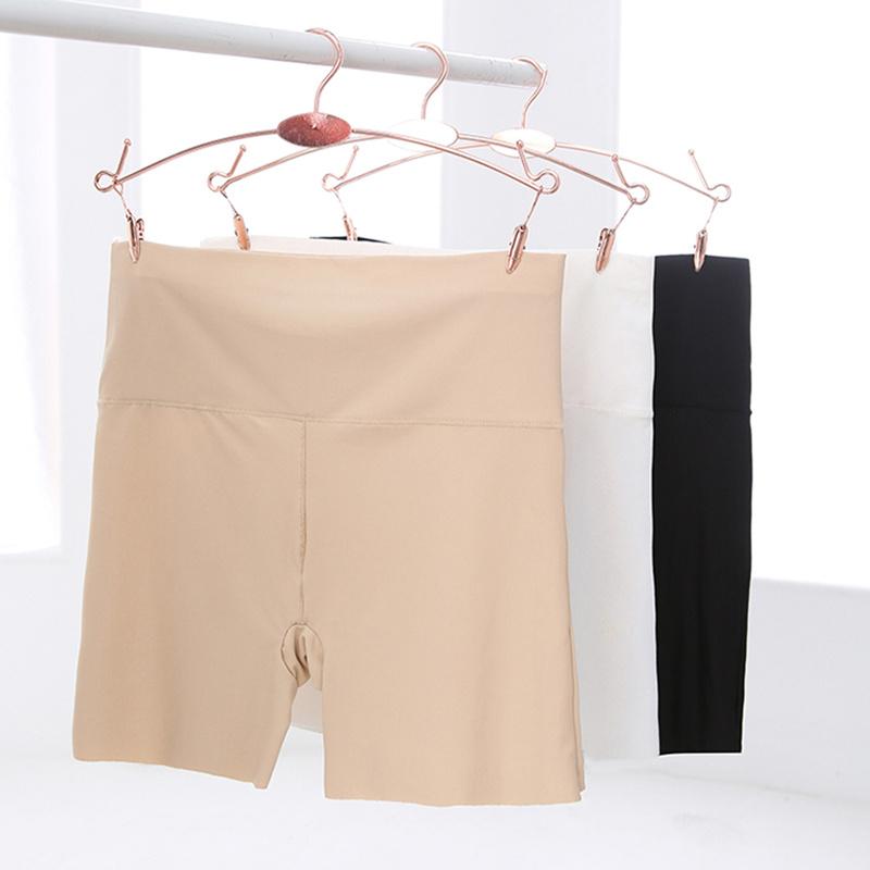 2 nạp quần an toàn chống ánh sáng nữ quần short băng lụa liền mạch phương thức trắng boxer bảo hiểm xà cạp mùa hè