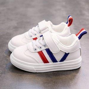 新款秋冬小童鞋儿童白色运动鞋女童鞋小学生小白鞋休闲鞋男童白鞋