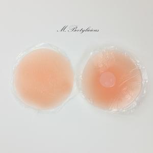 MBootylicious chống ánh sáng dán ngực chống va chạm núm vú dán vô hình núm vú silicone có thể được làm sạch kích thước