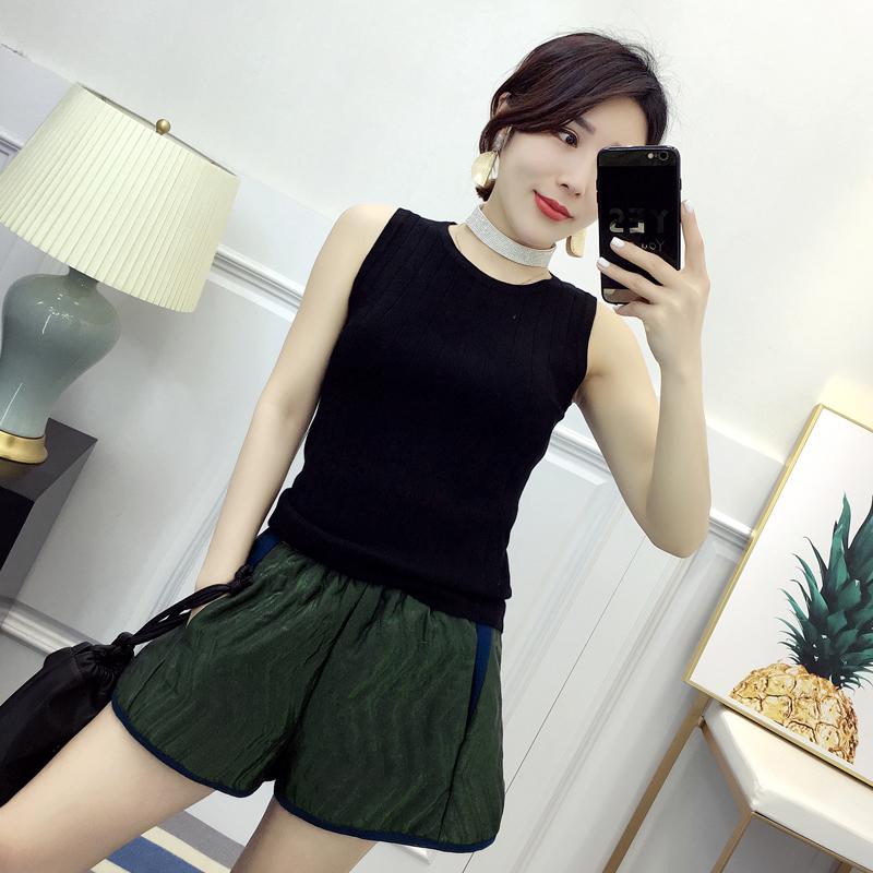 纯色针织衫背心修身显瘦上衣外穿-优惠价20元销量158件