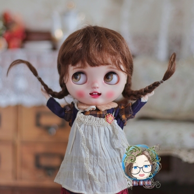 taobao agent 【Every year】BJD blythe wig mohair small forest multicolor = spot =