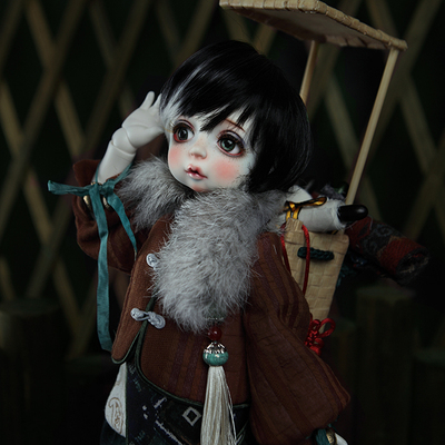 taobao agent 【L I U】Dragon Soul Humanoid Society BJD Baby Clothes Giant Infant Fantasy Style Costume 40BC-0001=In Stock=