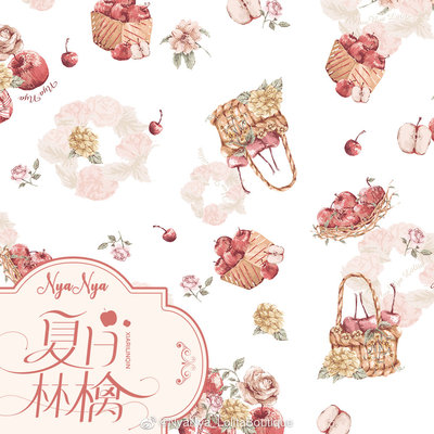 taobao agent 【The stock is on the shelf, please poke the baby details】Summer Ringo Collection Collection NyaNya Original Lolita