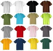 Cũ áo sơ mi nam cộng với phân bón XL cotton vòng cổ ngắn tay T-Shirt trung niên loose áo vest nam cotton