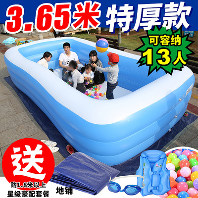 Children's Pool Home Baby Adults Oversized Family Inflatable Pool Thicken Baby Kids Pool