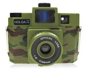 Chính thức Quân đội Lomo Holga 120 CFN 120CFN Quân xanh Camo Limited Edition