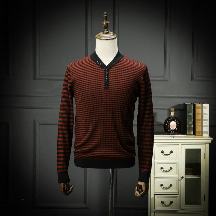 Trong nước duy nhất cắt tiêu chuẩn của nam giới v- cổ kinh doanh bình thường mỏng phần mùa xuân và mùa thu áo len đặc biệt cung cấp phúc lợi áo len áo len