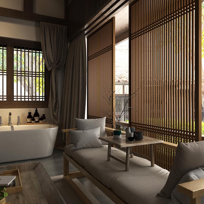 Trung quốc màn hình phân vùng thời trang hiên khách sạn tùy chỉnh rắn cửa sổ gỗ phân vùng gỗ rắn đầy đủ hàng rào hollow mạng